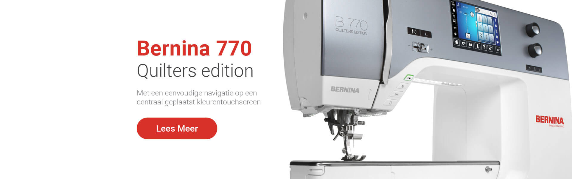 Bernina 770 Quilt machine